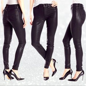 Level 99-Anthropologie 'Tanya' Leather Look Pants